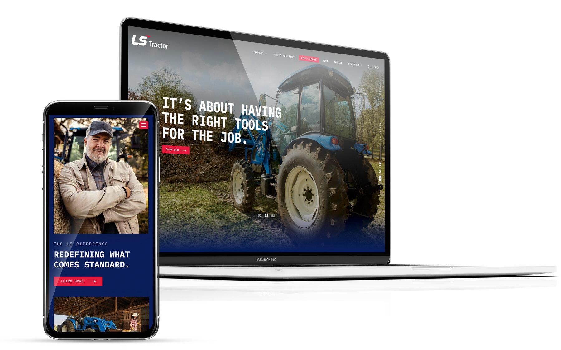 Ls tractor website