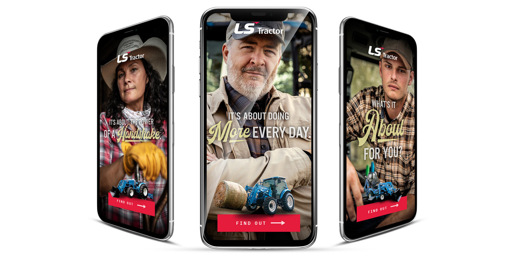 Ls tractor web banners
