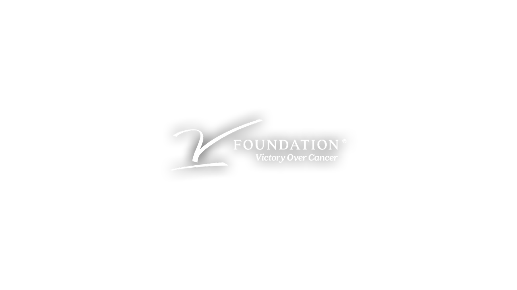 V foundation logo center