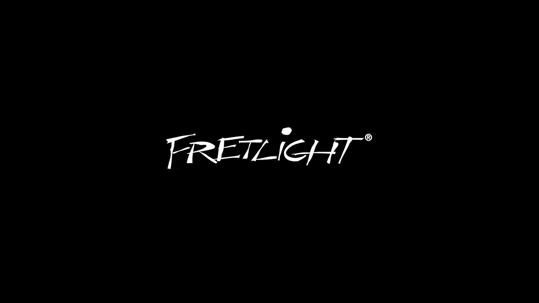Fretlight logo center