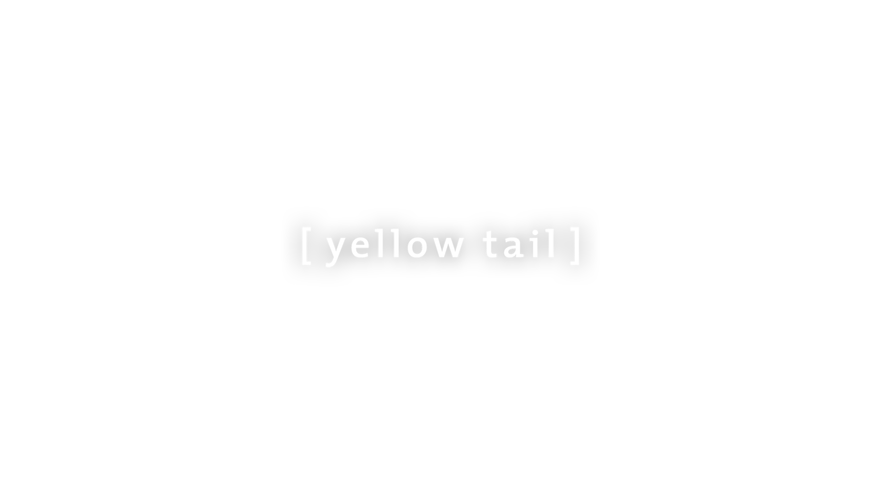 Yellow tail logo center