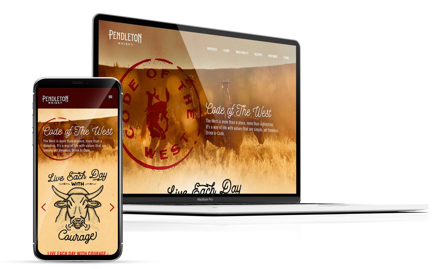 Pendleton website