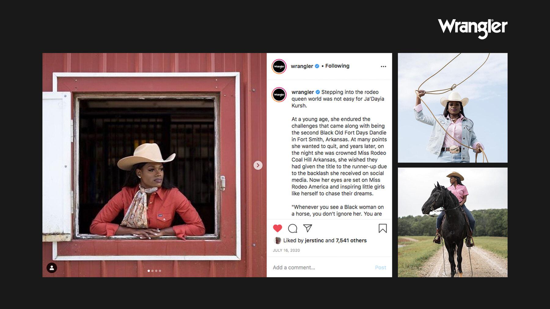 Wrangler Cowboys JDAYIA HHERRING