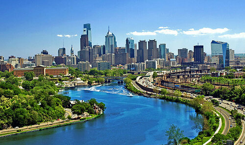 Philadelphia Skyline 13